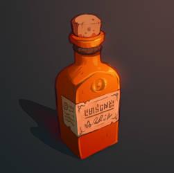 Bottle Paint 01 by inkopath