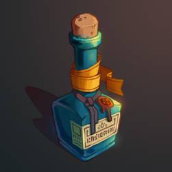 Bottle Paint 02 by inkopath