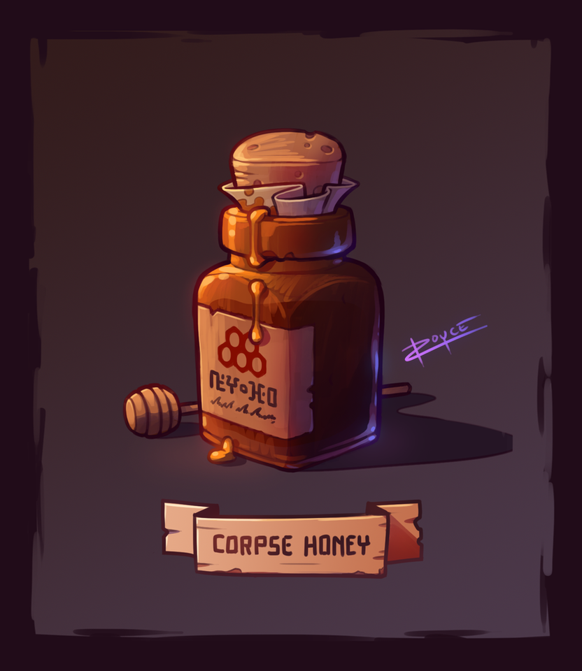 Corpse Honey by inkopath