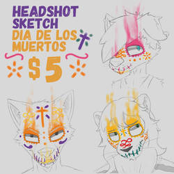 Headshot sketches by katx-fish