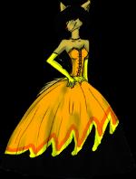 Dresspose by GoldenScar