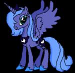 Princess Luna by GoldenScar