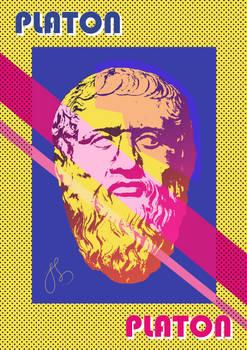 Platon - pop-art