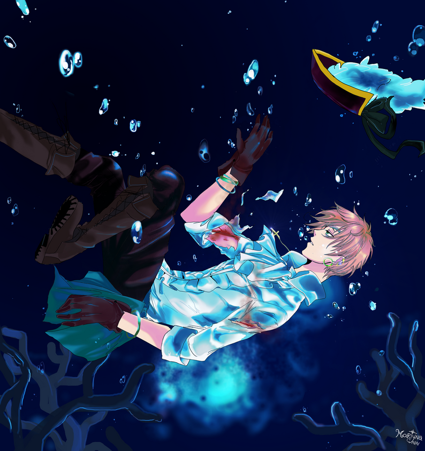 Drowning by Martyna-Chan
