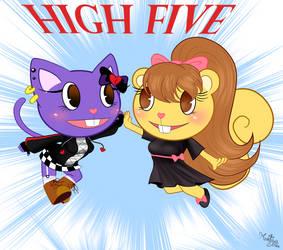 Best sisters highfive :GIFT: