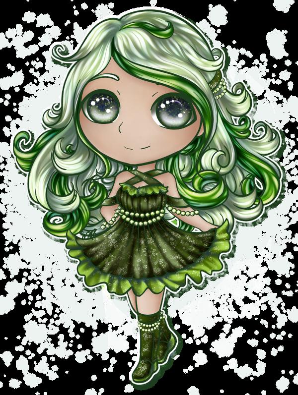 [CE] Pearl Blossom Chibi by WonderfulMelody8