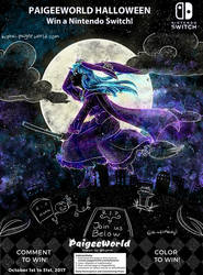 [CE] Galaxy Witch Aoi by WonderfulMelody8