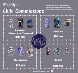 Custom Chibi Commission Listing [OPEN] by WonderfulMelody8