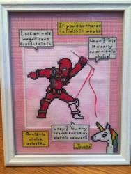 Deadpool by Sheepishwolfie