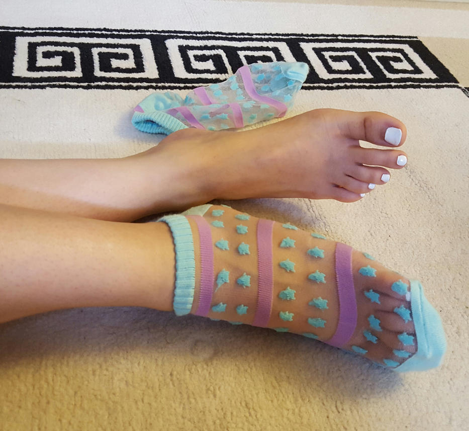 White Nails and New Socks by lightxyz on DeviantArt