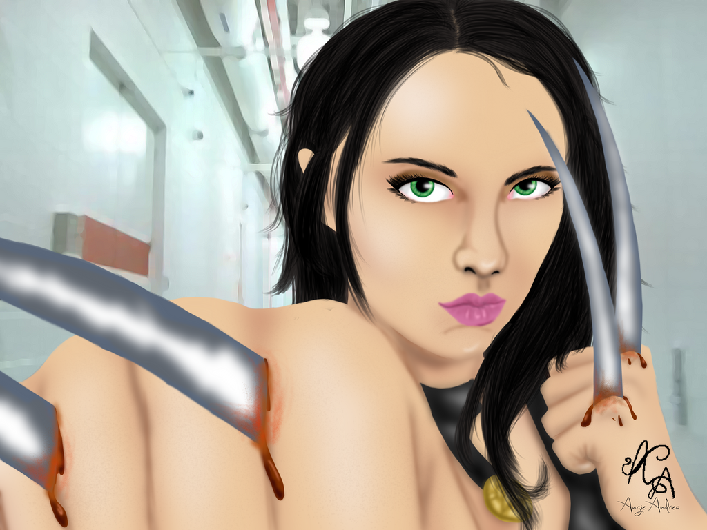 X-23 by Angie-Andrea