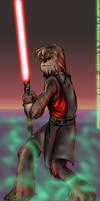 Sith Wookie-Darth Lumpawarump by scruffyzero