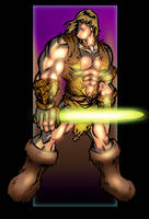 Thundarr the Barbarian by scruffyzero