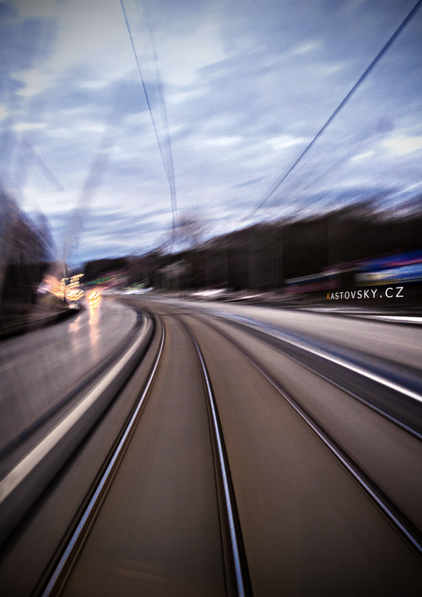 Ostrava in speeding by Zavorka