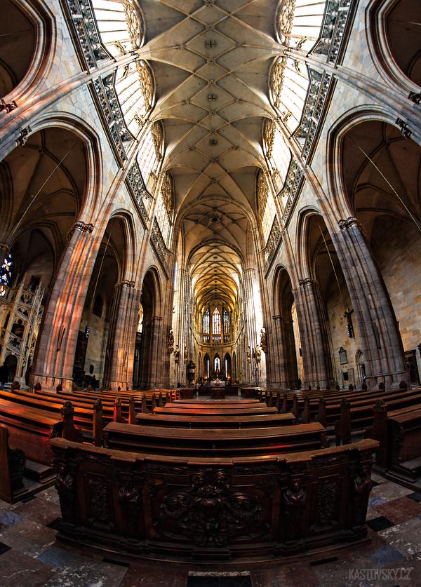 St. Vitus Cathedral - Prague by Zavorka