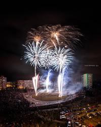 Ostrava - Hrabuvka Firework