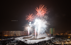 New Year's Eve Fireworks 2016