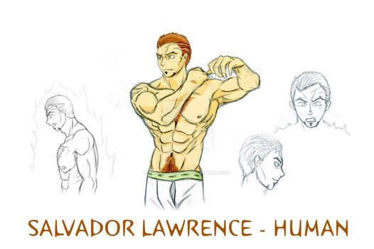 TMNT OC Salvador Lawrence (human)