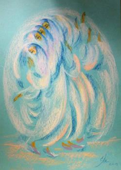 Dance (2014, pastels)