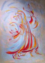 Fire dance (2014 pastels)