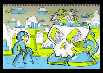 Notepad- Megaman