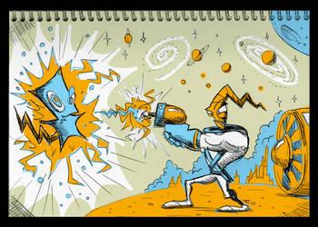 Notepad - Earthworm Jim
