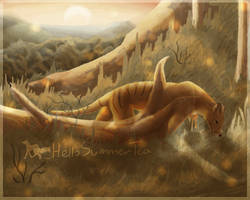 Seeking Thylacine | SpeedPaint by Wolves-Spirit