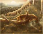 Seeking Thylacine | SpeedPaint