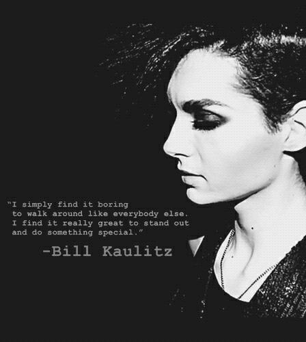 Bill Kaulitz-Just Be Yourself by IchliebeBillKaulitz1
