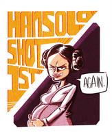 Han Solo Shot First by albonet