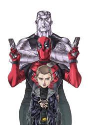 Deadpool by Lysergic44