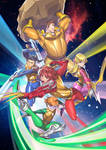 Astrowarrior Poster