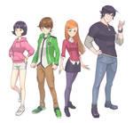 Ben 10 character redesign