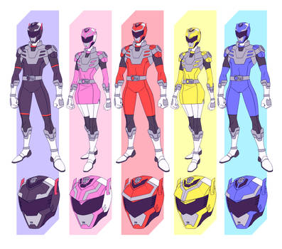 acdb095d COMMISSION-Power Rangers Transformers by Lysergic44