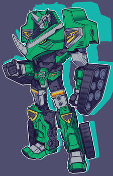 COMMISSION-Hyperforce Rhino Zord