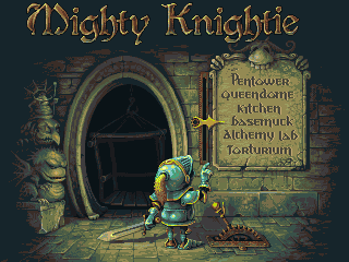 Mighty knightie by fool