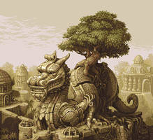 Dragon rider by fool