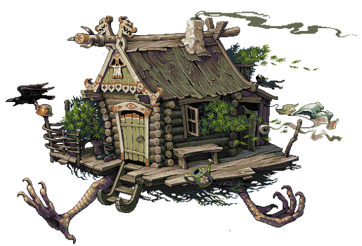 Runaway hut.
