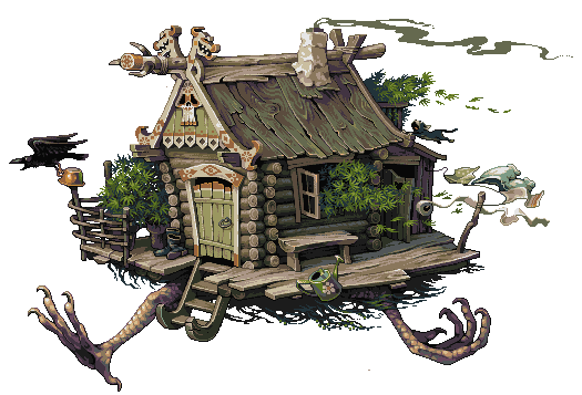 Runaway hut. by fool