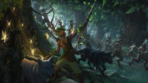 Summoning of forest creatures