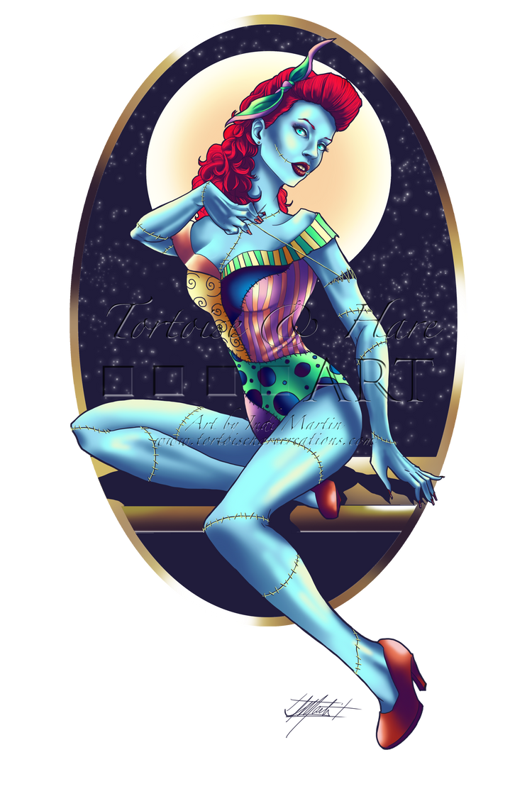 Commission: Sally Pinup by indigowarrior