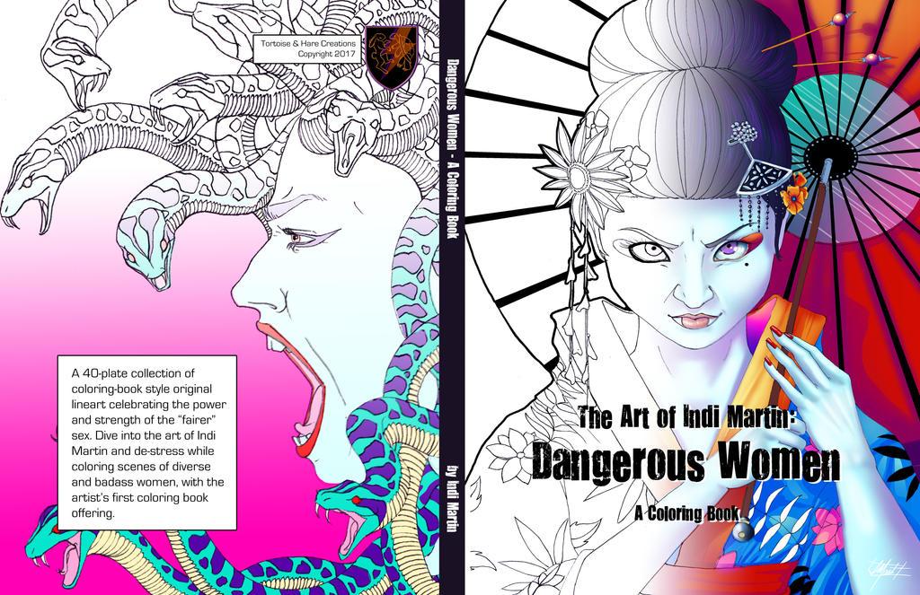 Cover: Art of Indi Martin - Dangerous Women by indigowarrior
