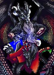 Nightshadow Dragon by indigowarrior