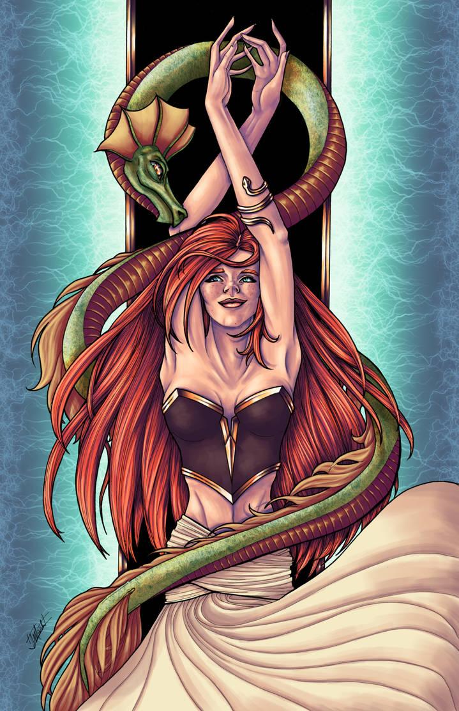 Serpent Dancer by indigowarrior