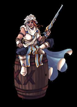 Nomadic Dwarven Leader