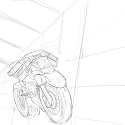 Superbike sketch