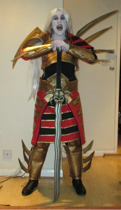 Blood Omen 2 Kain - front view by Lucinvampire