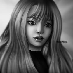 Jennie blackpink - redraw by traumxnd