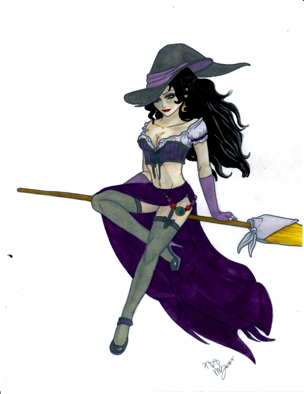 Wicked Witch Drawings Wicked Witch Pin up