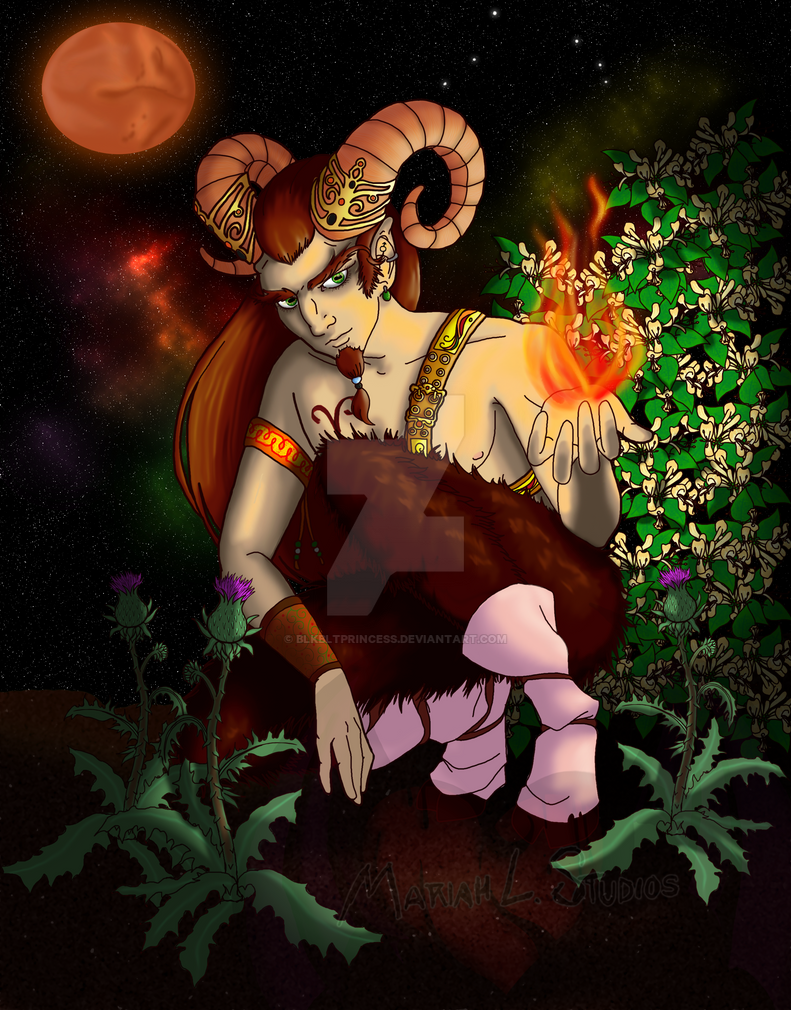 Aries by Blkbltprincess